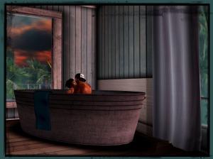 1 Bath Time Framed