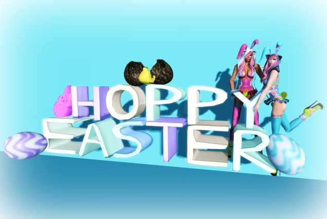 1 Hoppy Easter