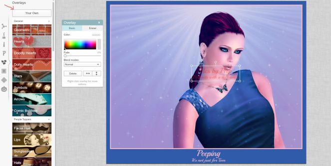 22. Overlay - Your Own - Creating a Watermark
