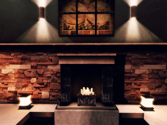1 Bali Fireplace