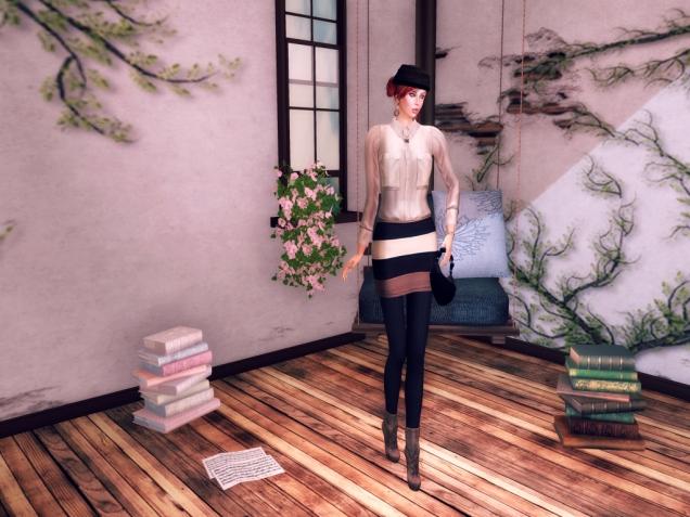 My Attic & JfL Soft Silk Hat