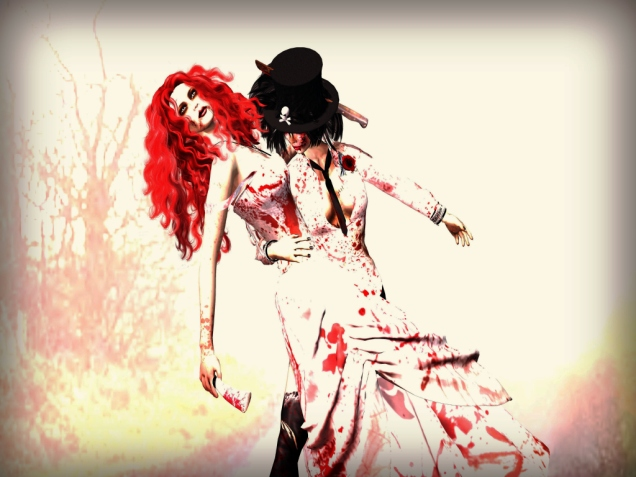 1 Halloween with my wifey CR