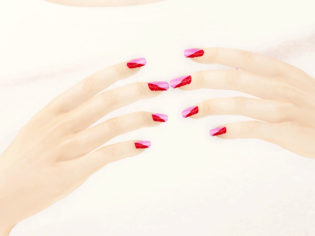 1 Vivid Nails Polish Pack 9 Closeup
