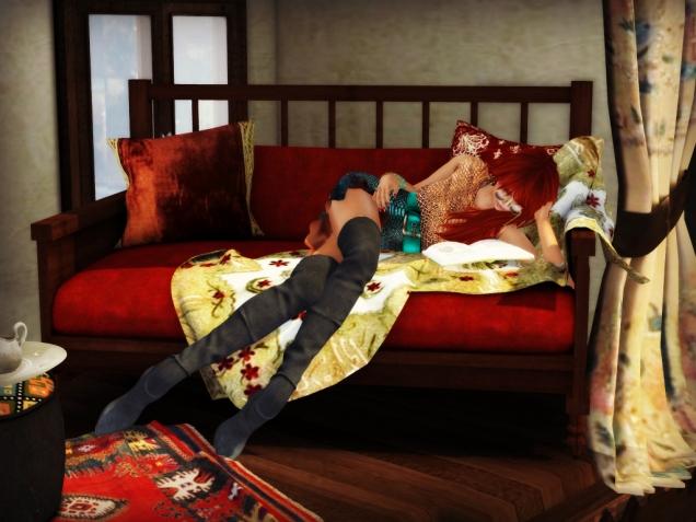 1 Cleo Design FMC ottoman sofa