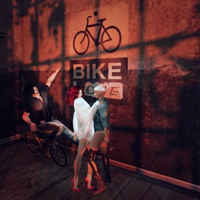 1 Bike love a trois A