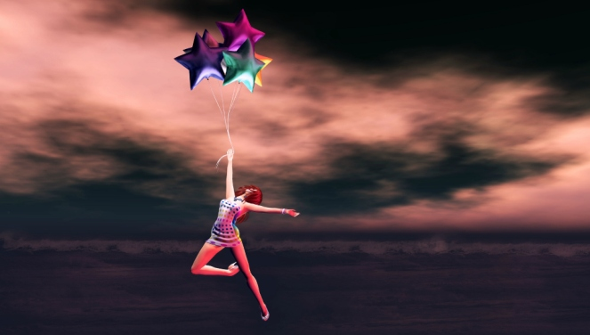 1 She Floats To The Stars