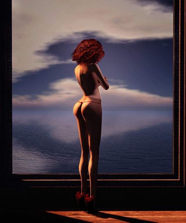 Bare ass