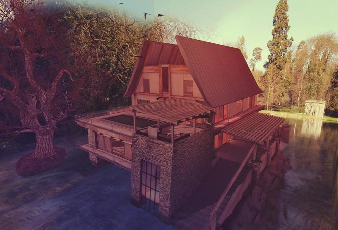 1 Lake House Exterior Full