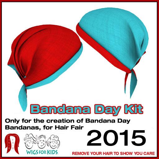 Bandana Day Kit 2015