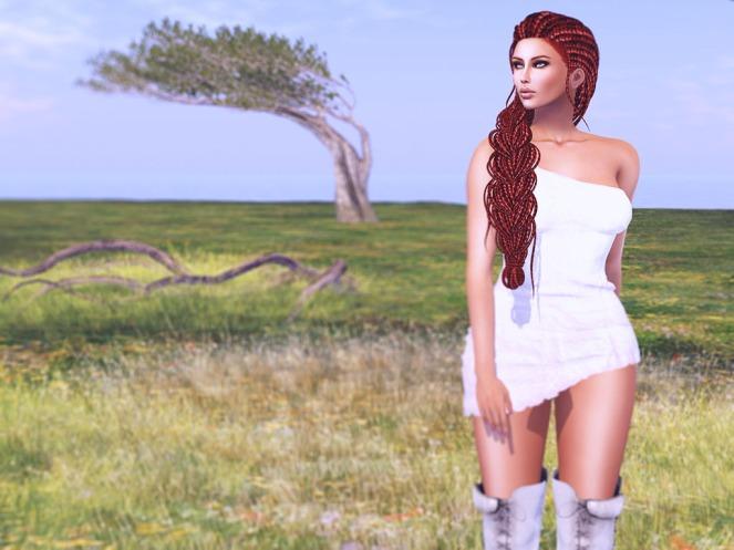 1 Oceane - QUINN Panna Cleavage - Redhead_003 sm