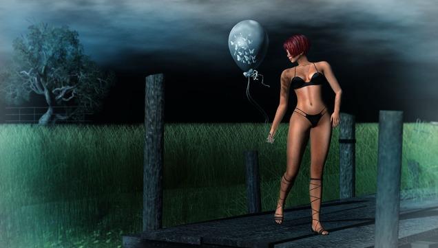 1 Butterflies Balloons & A Midnight Sky sm